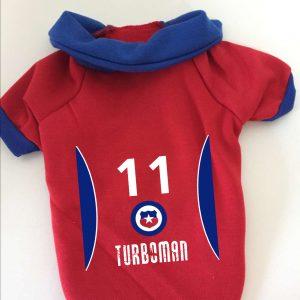 Camiseta de futbol Turboman