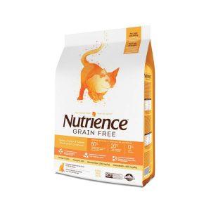 Nutrience Gatos Grain Free Pavo, Pollo y Arenque
