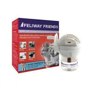 Feliway friends difusor + repuesto, feromonas 48 ml