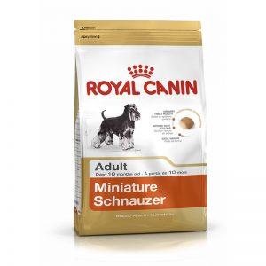 ROYAL CANIN SCHNAUZER MINIATURA ADULT 2.5 KG