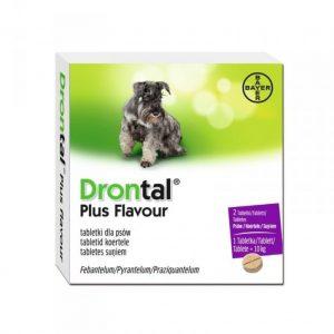 Drontal Plus, antiparasitario, hasta 10 kilos
