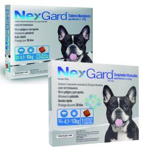 Nexgard 4,1 a 10 kilos