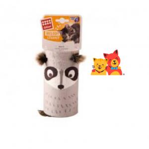 GIGWI Tubo Melódico Mapache para Gatos