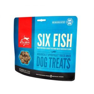 Orijen six fish dog treats 42.5GR