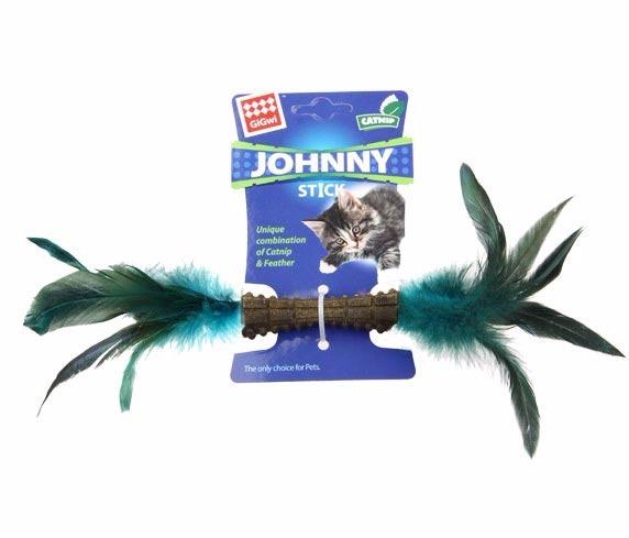 GIGWI Jhonny Stick Doble Pluma para gatos