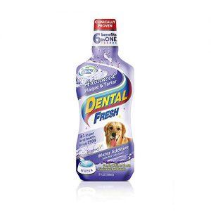 Enjuague bucal perros, Dental Fresh Advanced Plaque y Tartar 237 ml