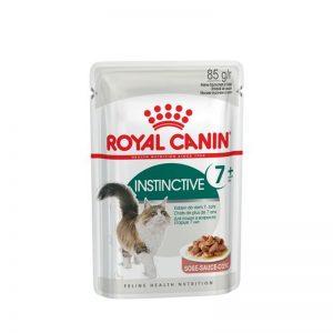 ROYAL CANIN POUCH FELINO ADULT INSTINCTIVE 7+ 85GR