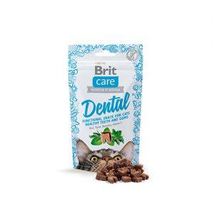 BRIT CARE CAT SNACK DENTAL FUNCTIONAL 50 GR