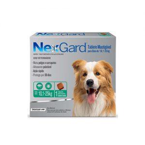 Nexgard 10,1 a 25 kilos