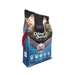 ODOUR BUSTER MULTI-CAT CAT LITTER 12KG
