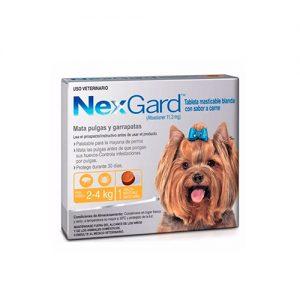 Nexgard 2 a 4 kilos
