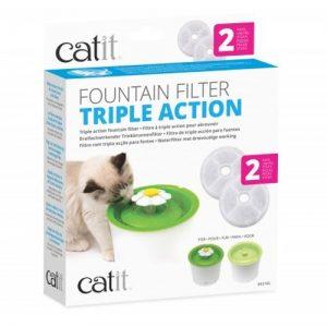 Filtro Catit 2 Unidades para fuente de 3 litros