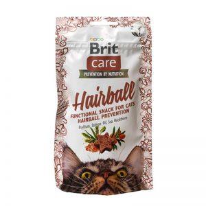 BRIT CARE CAT SNACK HAIRBALL 50 GR