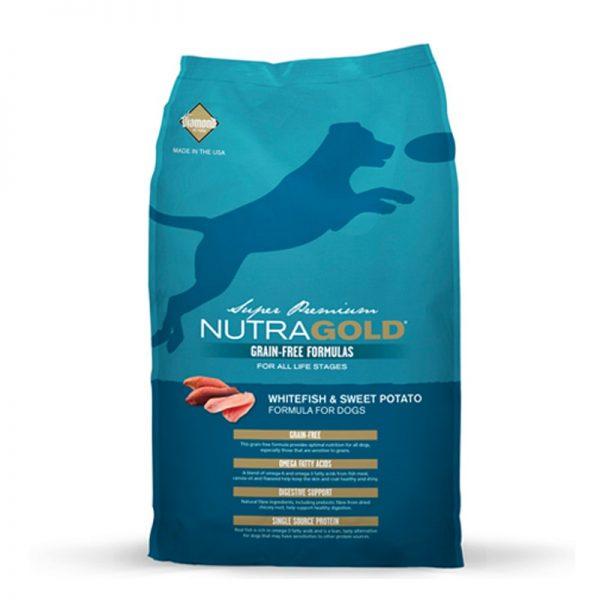 NUTRAGOLD CANINO GRAIN FREE Pescado Blanco 2 kg