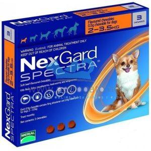 NEXGARD SPECTRA 2 a 3.5 KILOS