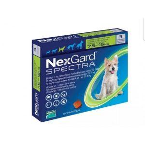 NEXGARD SPECTRA 7.6 a 15 KILOS