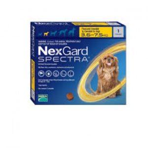 NEXGARD SPECTRA 3.6 a 7.5 KILOS