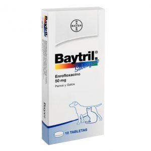 BAYTRIL 50 MG 10 COMPRIMIDOS