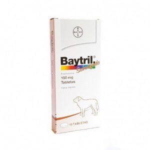BAYTRIL 150 MG 10 COMPRIMIDOS
