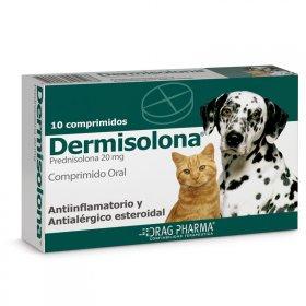 DERMISOLONA 20 MG 10 COMPRIMIDOS