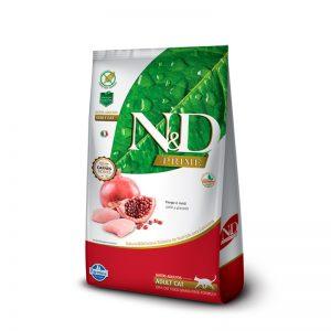 N&D PRIME FELINE ADULT - POLLO Y GRANADA