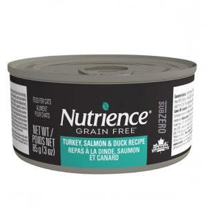 NUTRIENCE SUBZERO CAT HUMEDO PAVO / PATO / SALMON