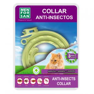 MENFORSAN     COLLAR ANTI-INSECTO PARA GATO
