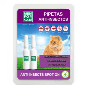MEN FOR SAN PIPETA ANTI-INSECTOS GATO