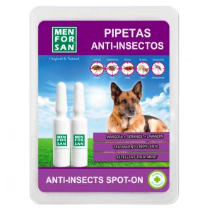 MEN FOR SAN PIPETA ANTI-INSECTOS PERRO