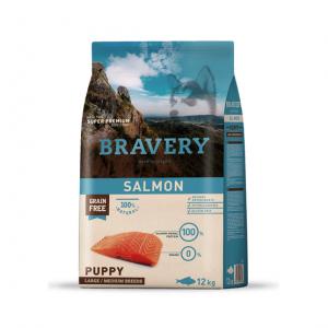 BRAVERY SALMON PUPPY MEDIUM/LARGE BREED 12 KG