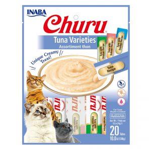 CHURU TUNA VARIEDADES BAG 20 TUBOS 280 GR