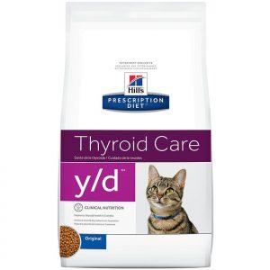 HILLS Y/D THYROID CARE FELINO 1.8 KG