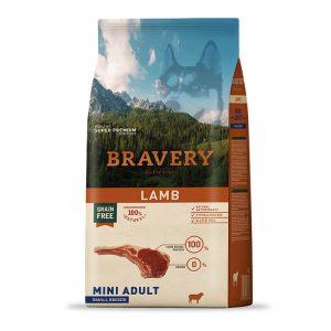 BRAVERY LAMB MINI ADULT SMALL BREEDS 2 KG