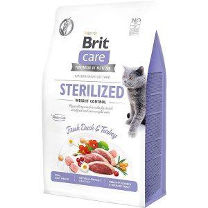 BRIT CARE CAT STERILIZED WEIGHT CONTROL DUCK & TURKEY