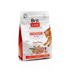 BRIT CARE CAT INDOOR ANTI- STRESS CHICKEN