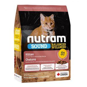 NUTRAM S1 SOUND KITTEN 1.13 KG