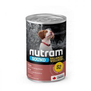 NUTRAM S2 SOUND PUPPY CANNED 369 GR