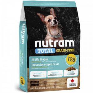 NUTRAM T28 GRAIN FREE S. BREED TROUT & SALMON