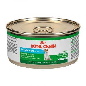 ROYAL CANIN WEIGHT CARE ADULTO CANINO LATA 165 GRS