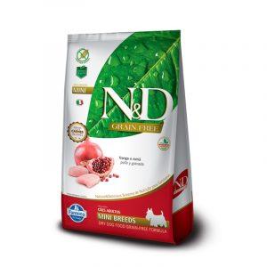 N&D CANINO ADULTO MINI BREED FRANGO 2.5KG