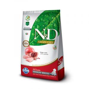 N&D CANINO PUPPY MEDIUM BREED FRANGO 10 KG