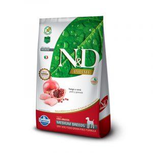 N&D CANINO ADULTO MEDIUM BREED PRIME FRANGO 2,5KG