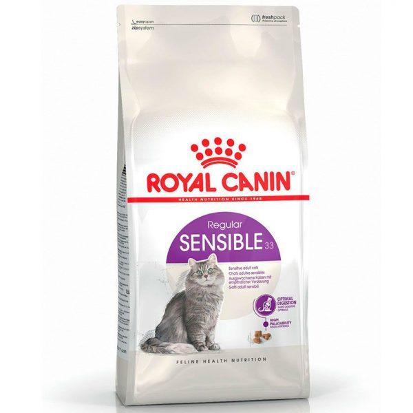 ROYAL CANIN SENSIBLE GATO ADULTO  7.5 KG